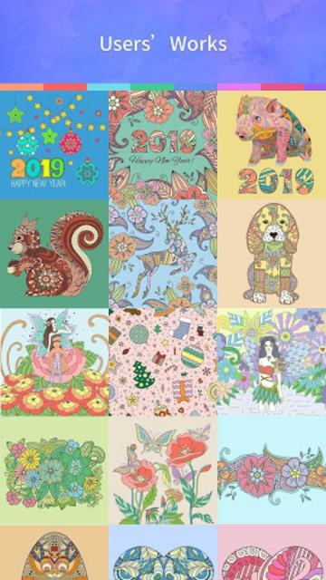Coloring Book 2019 screenshot 3