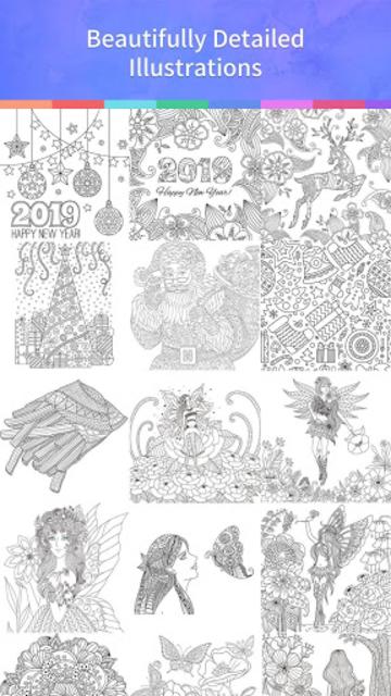 Coloring Book 2019 screenshot 4
