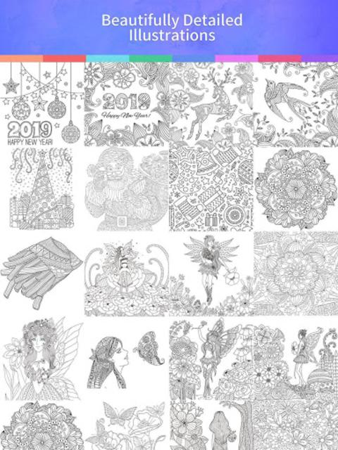 Coloring Book 2019 screenshot 10