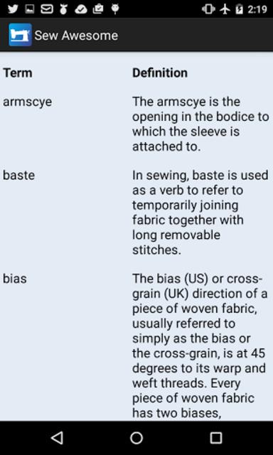 Sew Awesome: Sewing Tracker screenshot 8