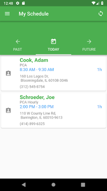 ContinuLink Mobile Edge screenshot 1