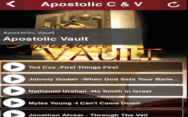 Apostolic C&V screenshot 5
