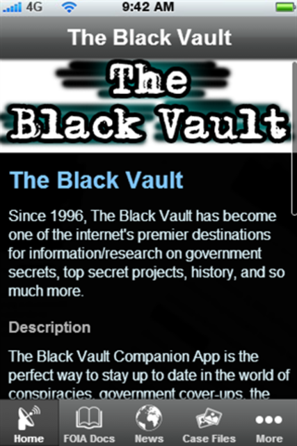 The Black Vault screenshot 2