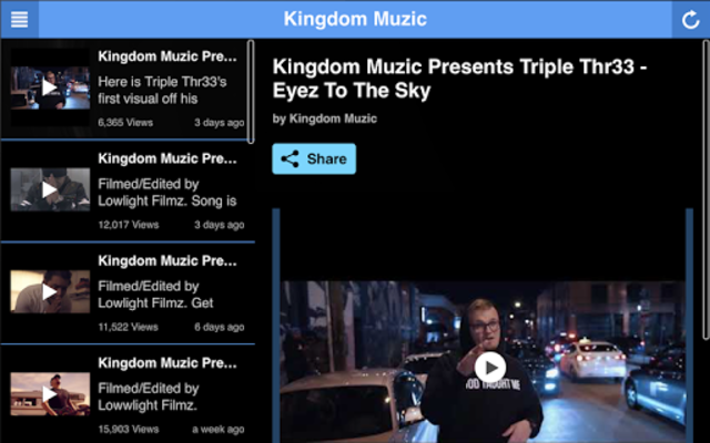 Kingdom Muzic screenshot 4