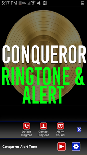 Conqueror Ringtone & Alert screenshot 2