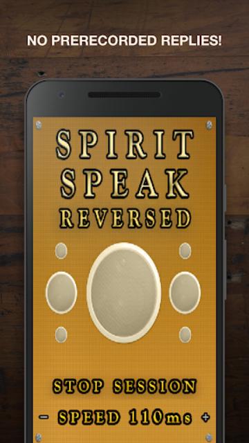 Spirit Speak - Reversed screenshot 2