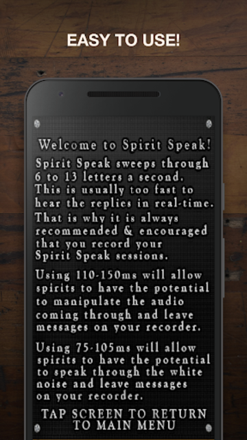 Spirit Speak - Reversed screenshot 5
