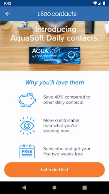 1800 Contacts - Lens Store screenshot 6