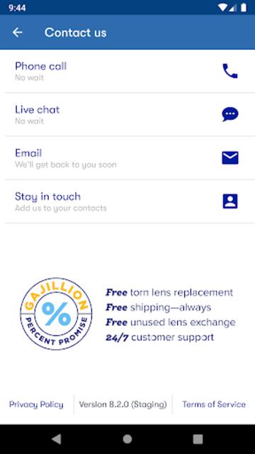 1800 Contacts - Lens Store screenshot 8