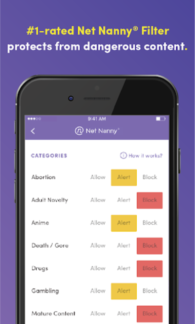 Net Nanny Parental Control App screenshot 2
