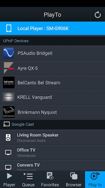mconnect Player – Google Cast & DLNA/UPnP screenshot 1