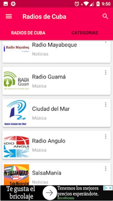 Radios de Cuba screenshot 5