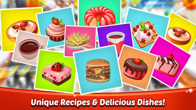 Cooking World - Chef Food Games & Restaurant Fever screenshot 1