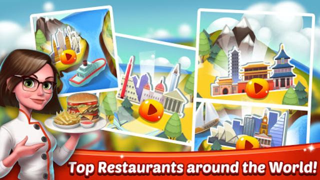 Cooking World - Chef Food Games & Restaurant Fever screenshot 8