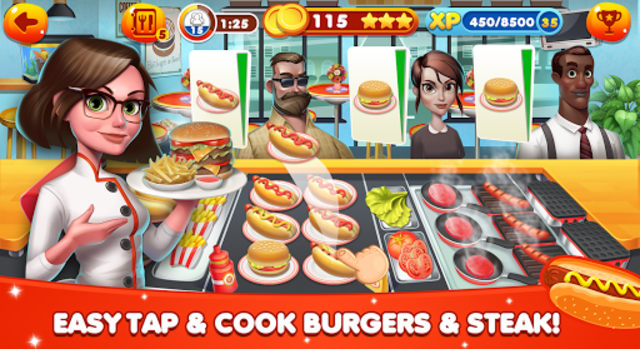 Cooking World - Chef Food Games & Restaurant Fever screenshot 13