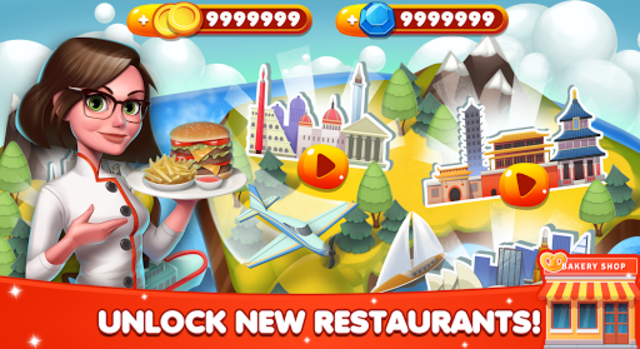 Cooking World - Chef Food Games & Restaurant Fever screenshot 14