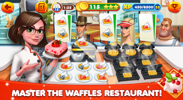 Cooking World - Chef Food Games & Restaurant Fever screenshot 15