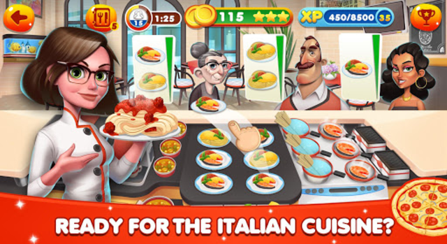Cooking World - Chef Food Games & Restaurant Fever screenshot 17