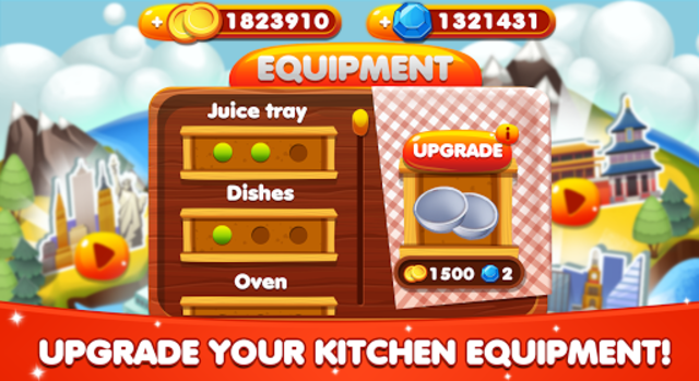 Cooking World - Chef Food Games & Restaurant Fever screenshot 18