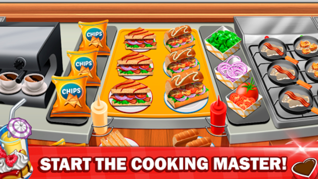 Cooking Master 2020 Food Fever & Restaurant Craze screenshot 1