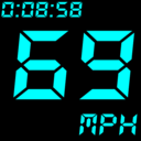 Icon for GPS Speedometer and Odometer