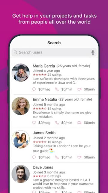 Hummr - Get paid for helping via chats & calls screenshot 6