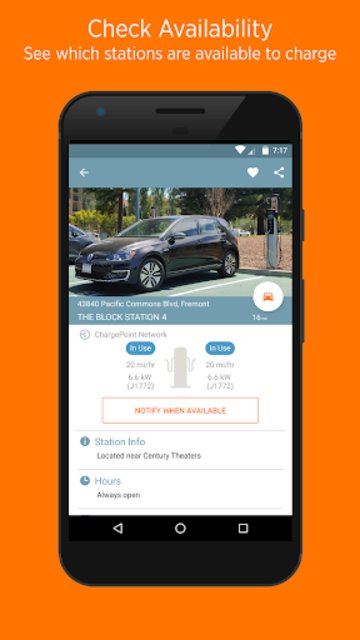 ChargePoint screenshot 2