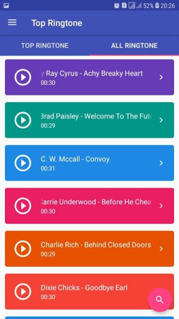 Best Country Ringtones Offline screenshot 2