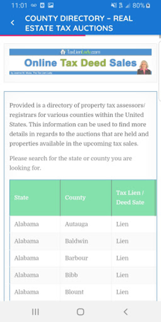 Real Estate Tax Auctions screenshot 15