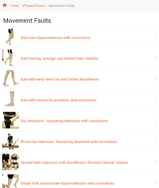 Complete Clinical Pattern Recognition Orthopaedic screenshot 5
