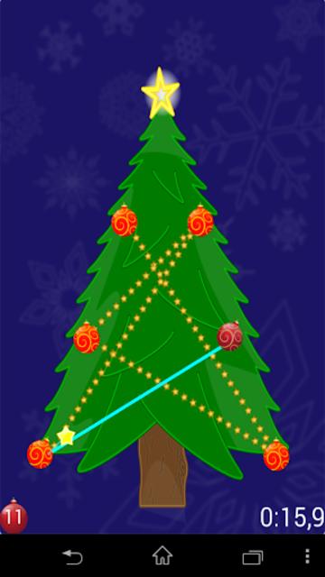 Christmas Tree puzzle screenshot 3