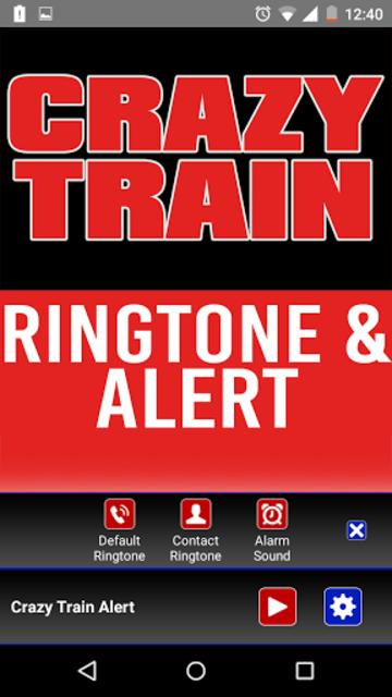 Crazy Train Ringtone and Alert screenshot 2