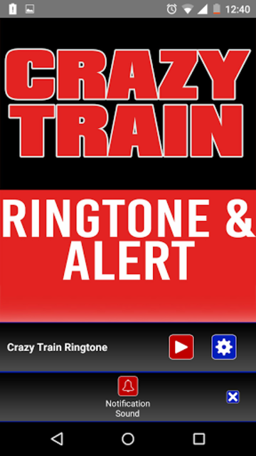 Crazy Train Ringtone and Alert screenshot 3