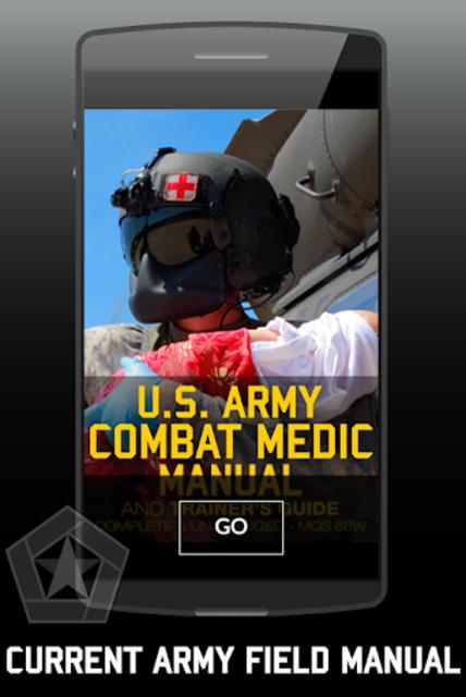 US Army Combat Medic & Trainer's Manual screenshot 1