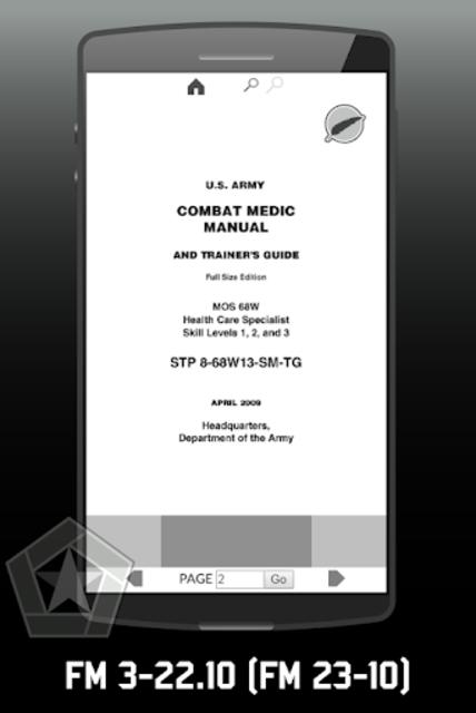 US Army Combat Medic & Trainer's Manual screenshot 2