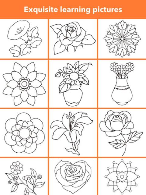 How To Draw Flowers screenshot 24