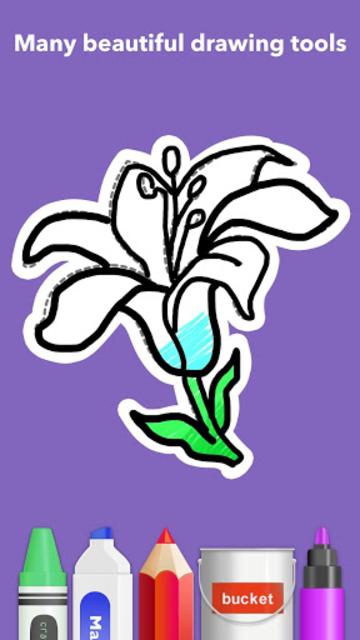 How To Draw Flowers screenshot 6