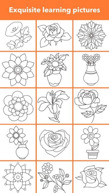 How To Draw Flowers screenshot 8