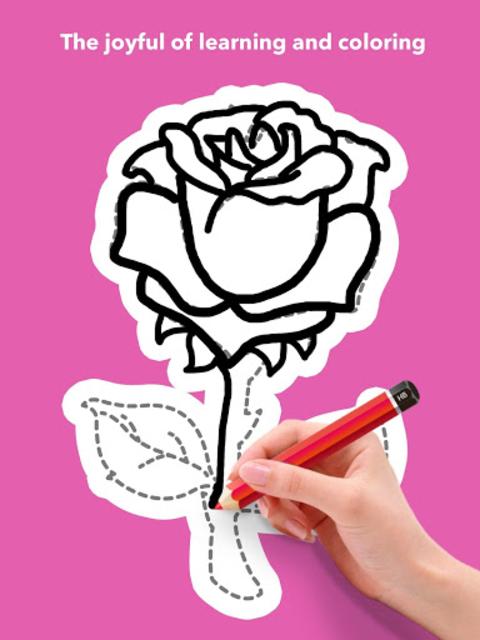 How To Draw Flowers screenshot 13