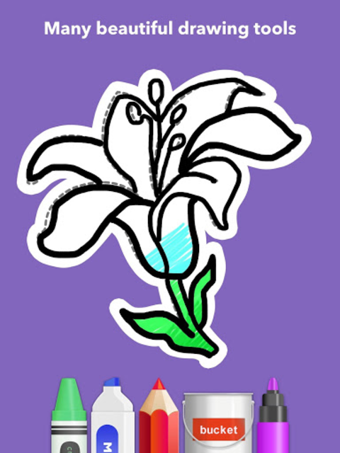 How To Draw Flowers screenshot 15