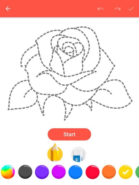How To Draw Flowers screenshot 17