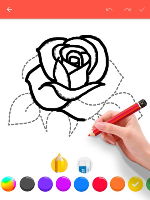 How To Draw Flowers screenshot 18