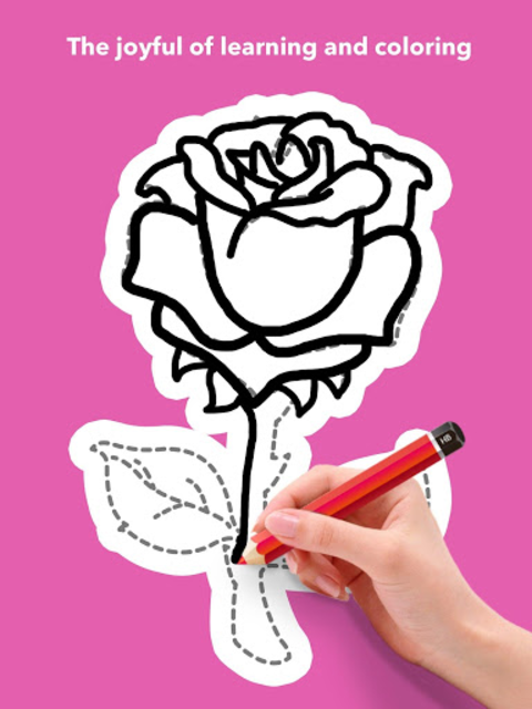 How To Draw Flowers screenshot 21