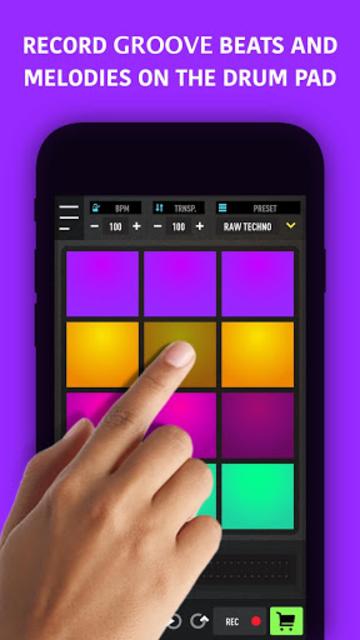 MixPads - Drum pad machine & DJ Audio Mixer screenshot 2
