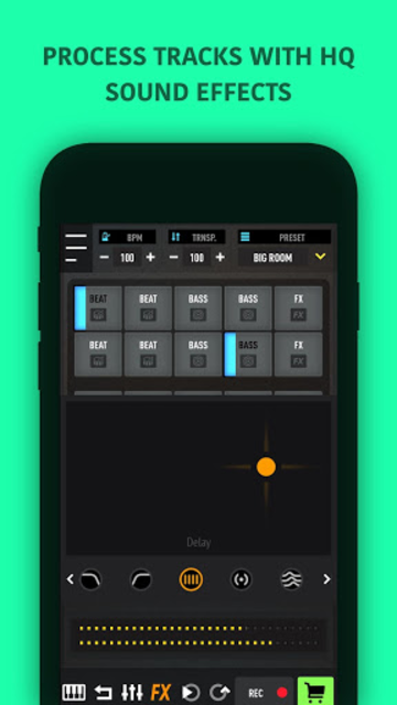 MixPads - Drum pad machine & DJ Audio Mixer screenshot 4