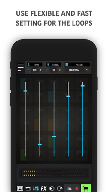 MixPads - Drum pad machine & DJ Audio Mixer screenshot 5