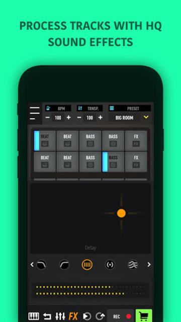 MixPads - Drum pad machine & DJ Audio Mixer screenshot 9