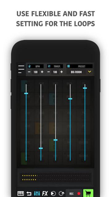 MixPads - Drum pad machine & DJ Audio Mixer screenshot 10