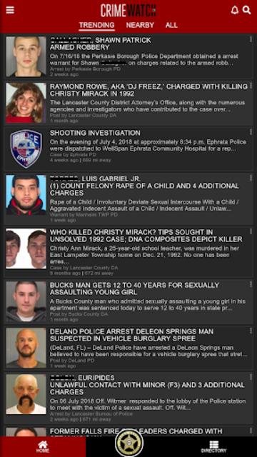 CRIMEWATCH screenshot 2