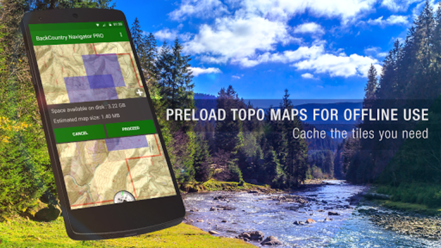 BackCountry Nav Topo Maps GPS - DEMO screenshot 2